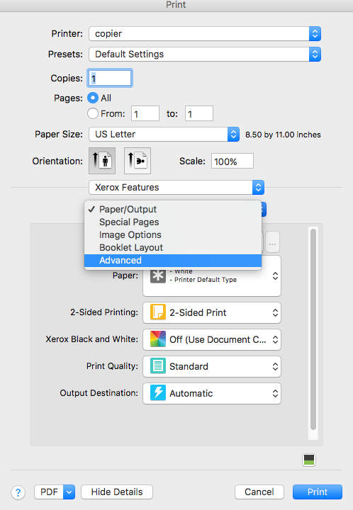 Printing Instructions for Mac | MIT LIDS